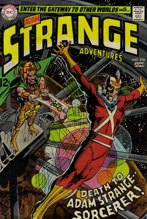 Cover for Strange Adventures #218