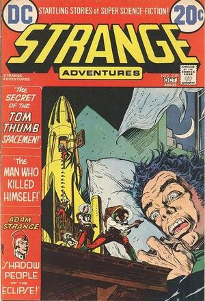 Cover for Strange Adventures #238