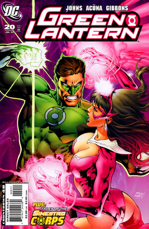 Cover for Green Lantern #20