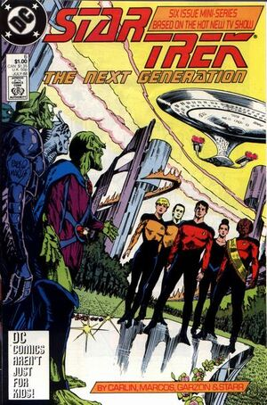 Cover for Star Trek: The Next Generation #6