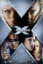 X2 X-Men United movie poster
