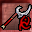 Red Rune Silveran Axe Icon