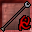 Red Rune Silveran Staff Icon