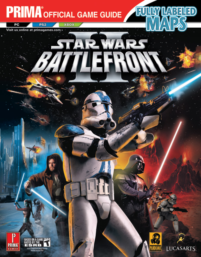 Star Wars Battlefront II (Prima Official Game Guide) Michael Knight