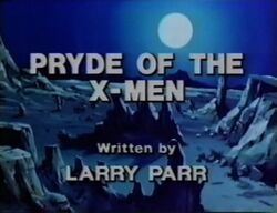 Pryde of the X-Men