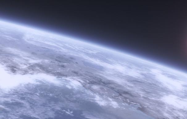 la Terra vista dall'orbita