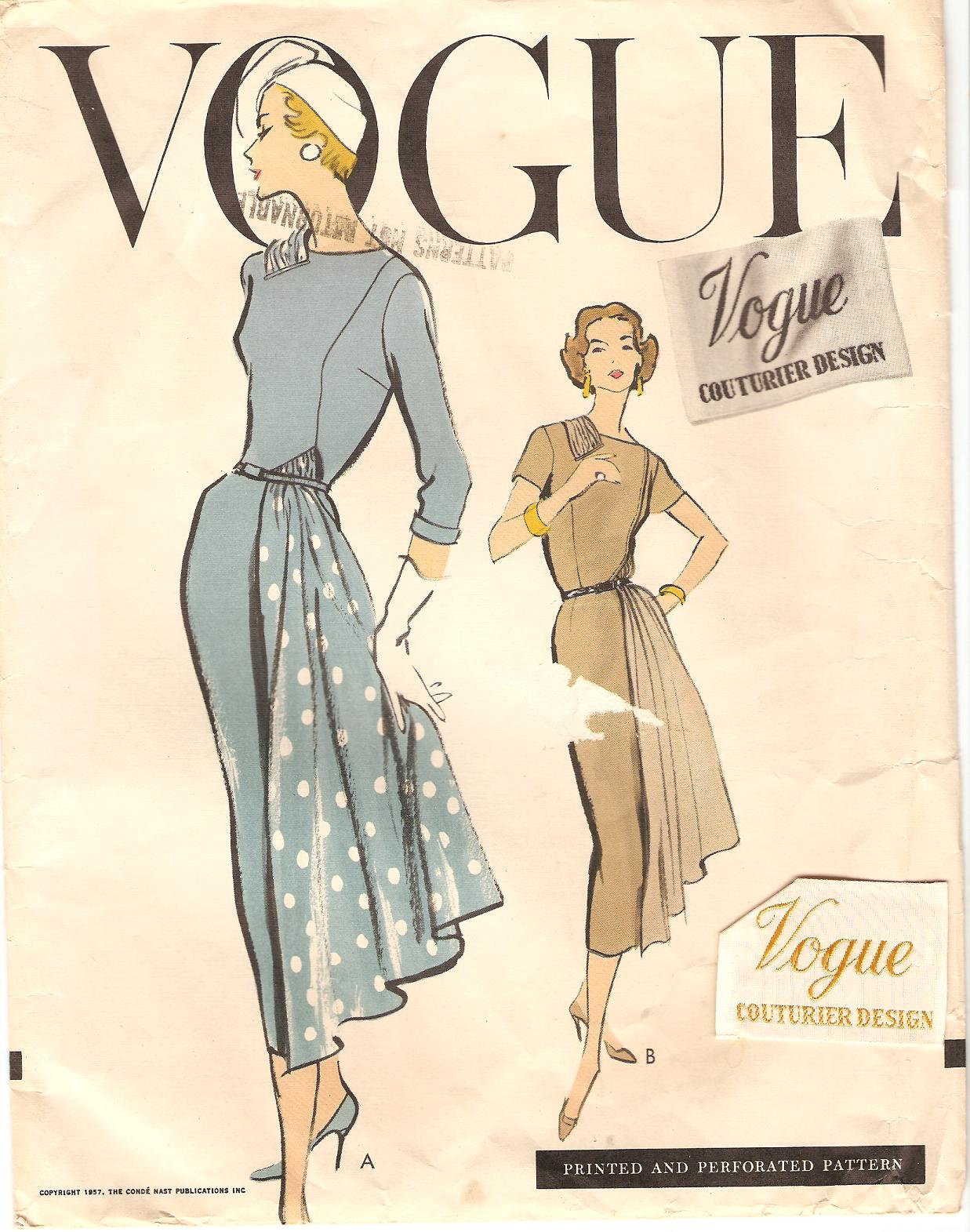 Vogue 959 - Vintage Sewing Patterns