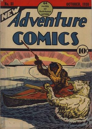 Cover for New Adventure Comics #31