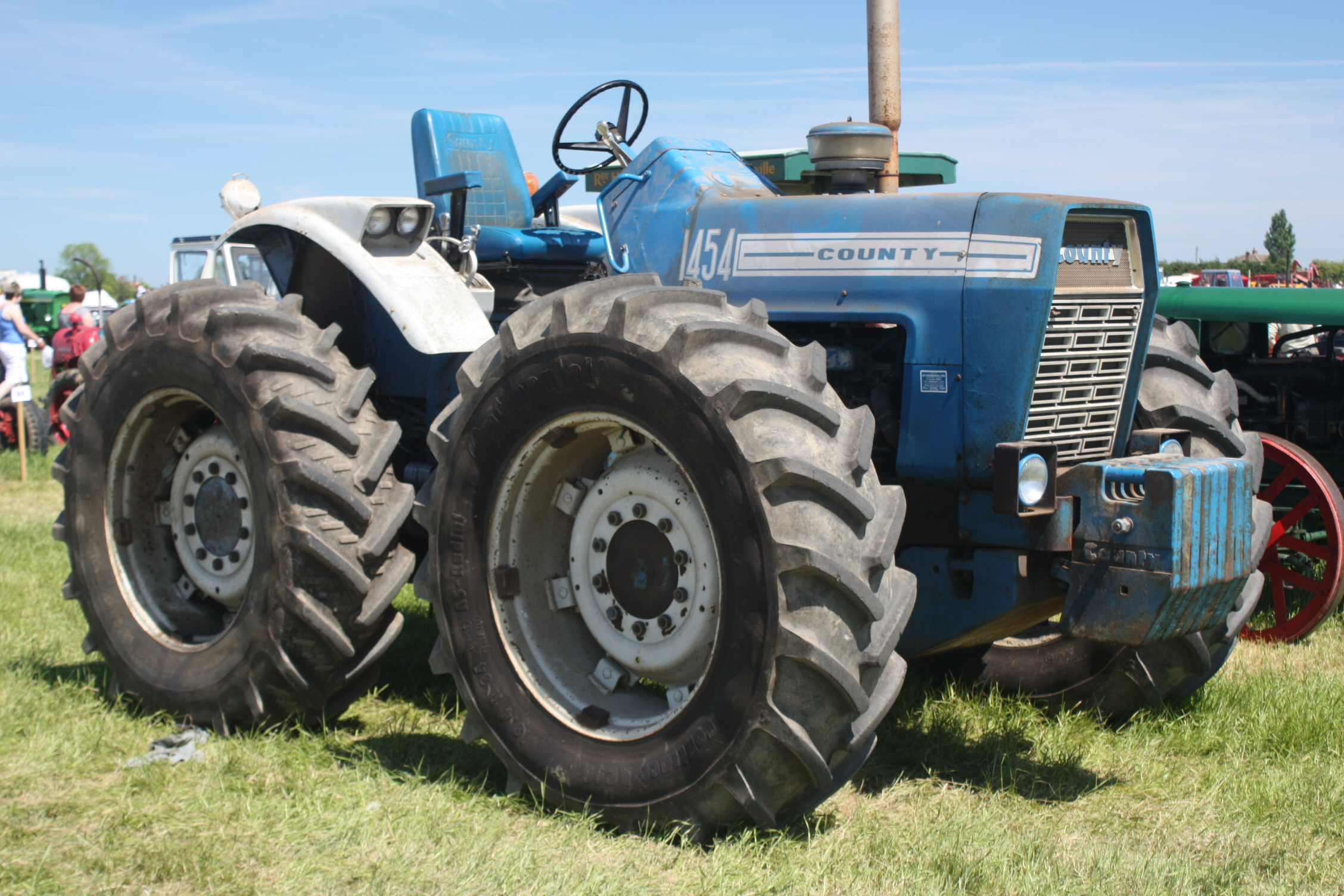 1972 Ford 9000 Tractor : County tractor construction plant wiki the