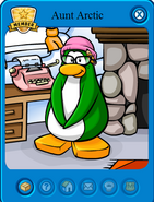 Club Penguin Charaters 141px-Aunt_Arctic%27s_Card