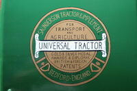 Saunderson Logo (photo of) on Tractor wing- IMG 1002
