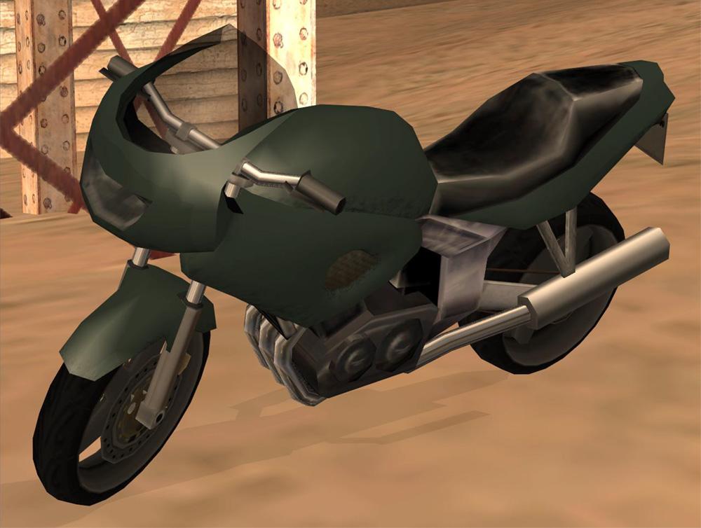 Moto Secreta En Gta San Andreas