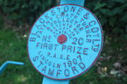 Blackstone Swath Turner &#39;Plaque&#39; IMG 1181