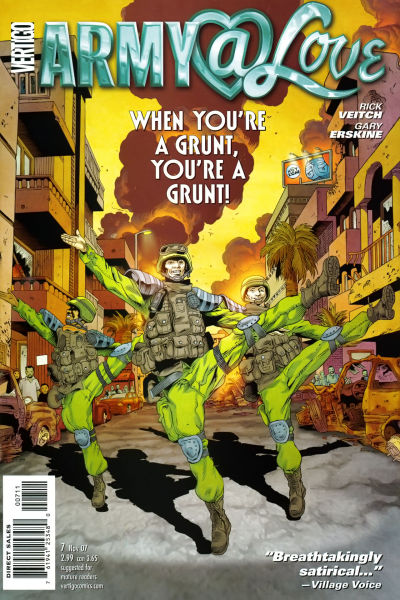 Cover for Army @ Love #7