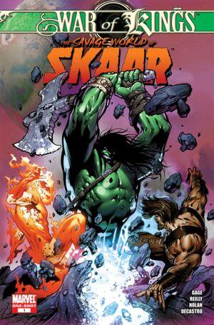 Skaar - Son of Hulk  300px-War_of_Kings_Savage_World_of_Skaar_Vol_1_1