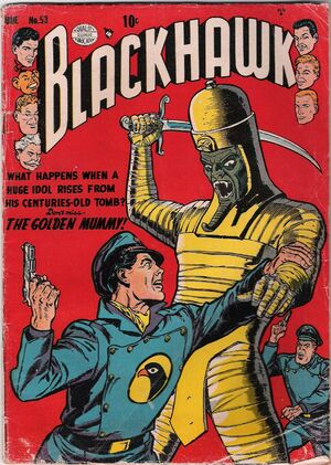 Cover for Blackhawk #53