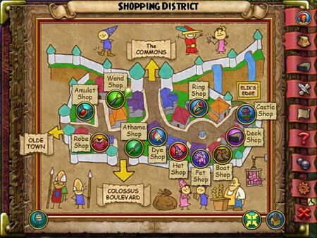 The Shopping District Smith Map