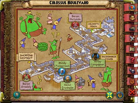 The Colossus Boulevard Smith Map