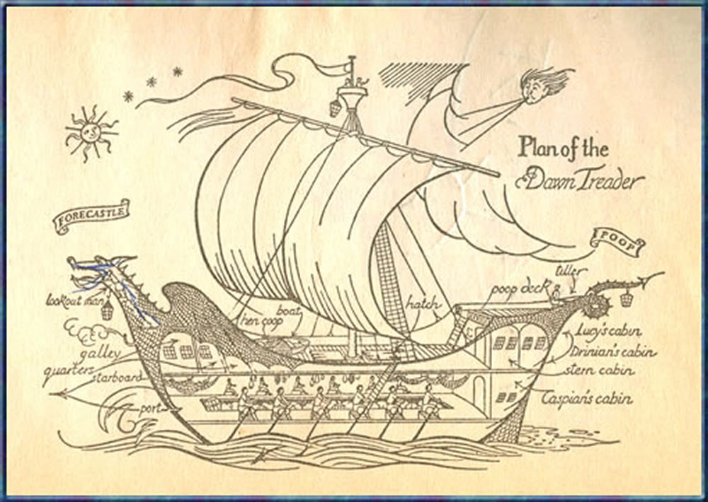 a literary analysis of the voyage of the dawn treader by c s lewis But there's still an air of nervous uncertainty hovering around the voyage of the dawn treader fans have nitpicked about whether the movies have remained true to c s lewis's books but voyage would seem a better fit for a movie treatment than the comparably dull and straightforward.