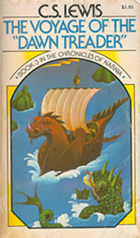 The dawn treader cover