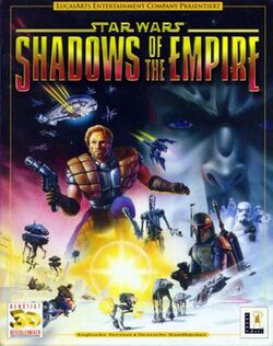 Shadows of the Empire Cover