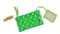 Kermit cosmetic bag