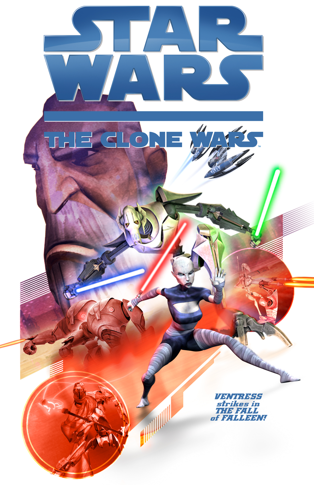 Star Wars: The Clone Wars - Ahsoka & Anakin vs. Assassin ...