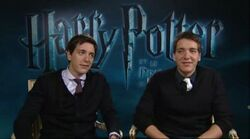 James and Oliver Phelps; behind-the-scene.jpg