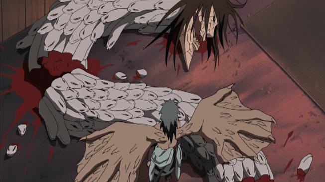 lịch sử và lý lịch của orochimaru 653px-Sasuke_Defeats_Orochimaru