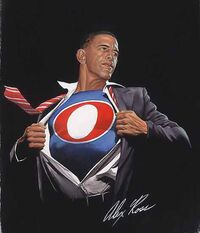 Obama superman transform alex ross