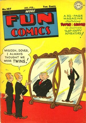 Cover for More Fun Comics #107