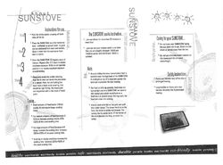 Sunstove brochure2