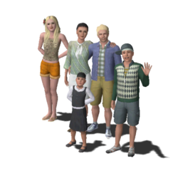 Langerak Family (The Sims 3)
