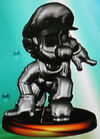 Metal Mario trophy (SSBM)