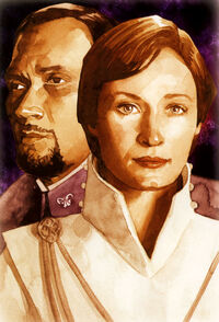 Bail Organa and Mon Mothma