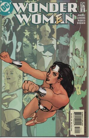 Cover for Wonder Woman #174