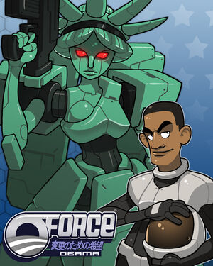 O Force Obama by Lysol Jones