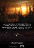 The Chosen One back cover