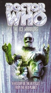 Ice warriors booklet us vhs