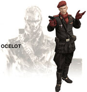 Revolver Ocelot MGS3