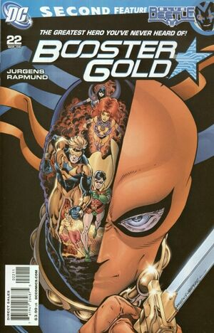 Cover for Booster Gold #22