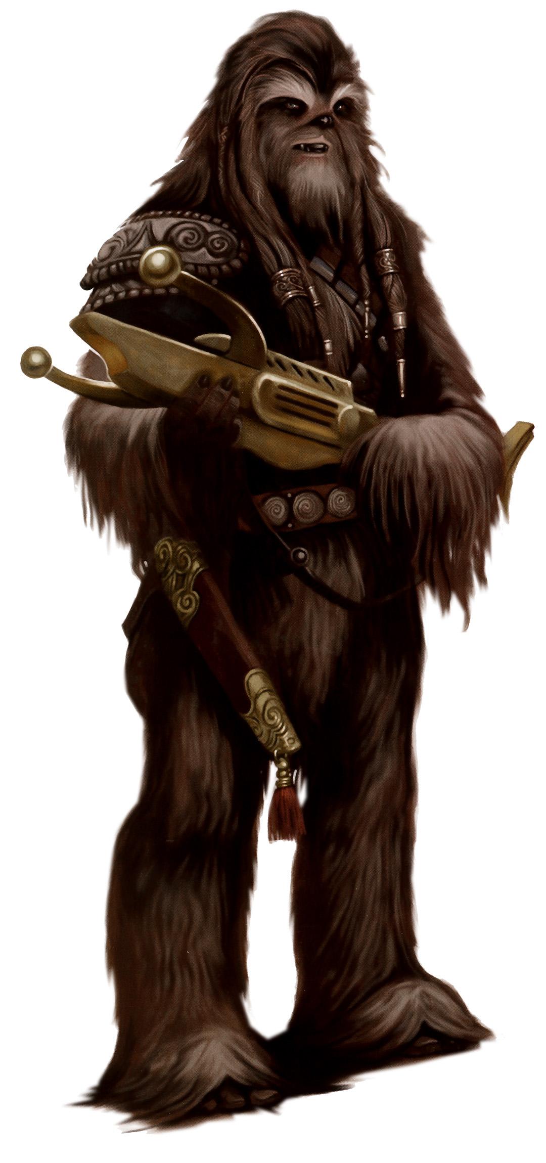 Wookiee Adult art