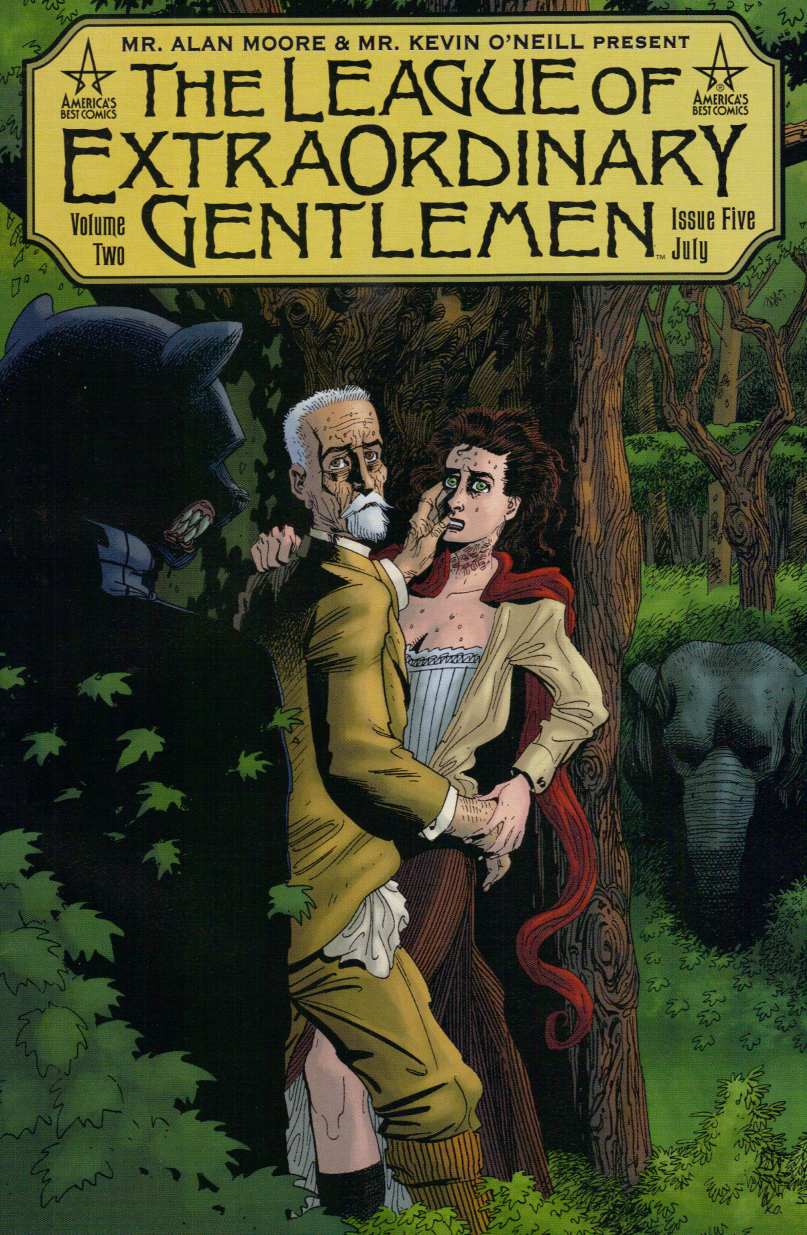 The League of Extraordinary Gentlemen (Vol IV): The Tempest #1 (of 6)