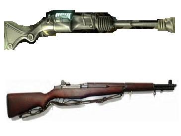 File M1 Garand Rifle