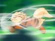 EP416 Arcanine usando velocidad extrema