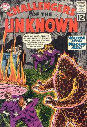 Cover for Challengers of the Unknown #27
