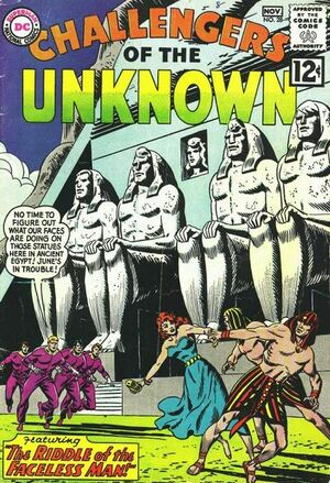 Cover for Challengers of the Unknown #28