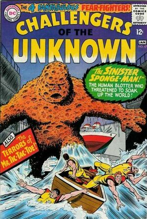 Cover for Challengers of the Unknown #47