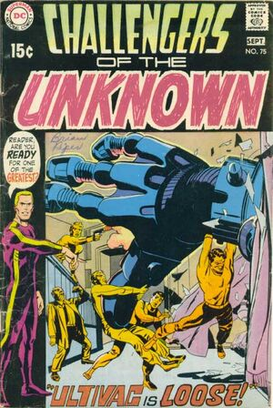 Cover for Challengers of the Unknown #75