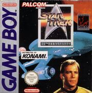Star Trek 25th Anniversary GameBoy